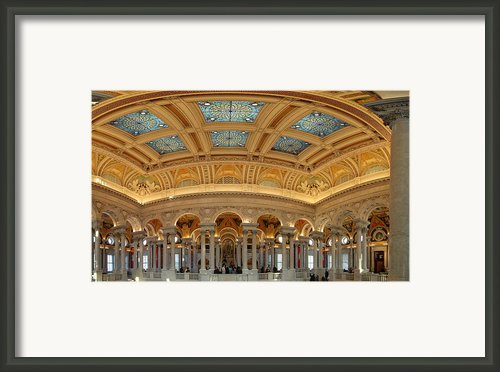 Library Of Congress - Washington Dc - 011322 Framed Print By Dc Photographer