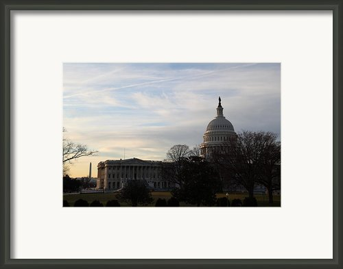 Library Of Congress - Washington Dc - 011325 Framed Print By Dc Photographer