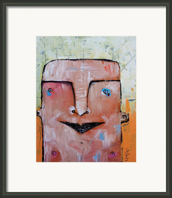 Life As Human No. 37 The Lost Tribe Framed Print By Mark M  Mellon