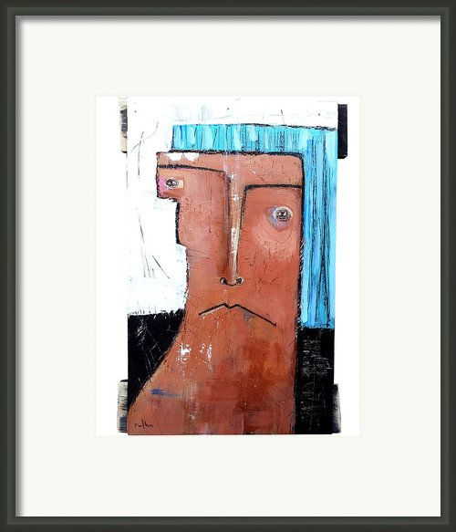 Life As Human Number Fifteen Framed Print By Mark M  Mellon