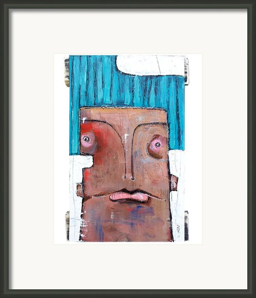 Life As Human Number Six Framed Print By Mark M  Mellon