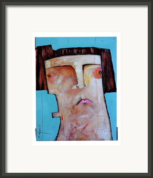 Life As Human Number Thirty Three Framed Print By Mark M  Mellon