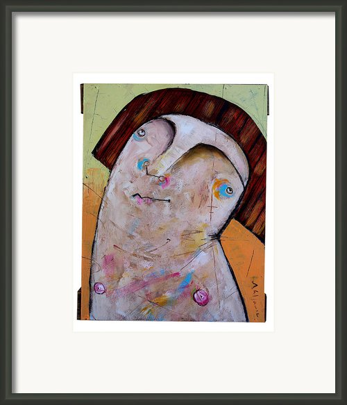 Life As Human Number Thirty Two Framed Print By Mark M  Mellon