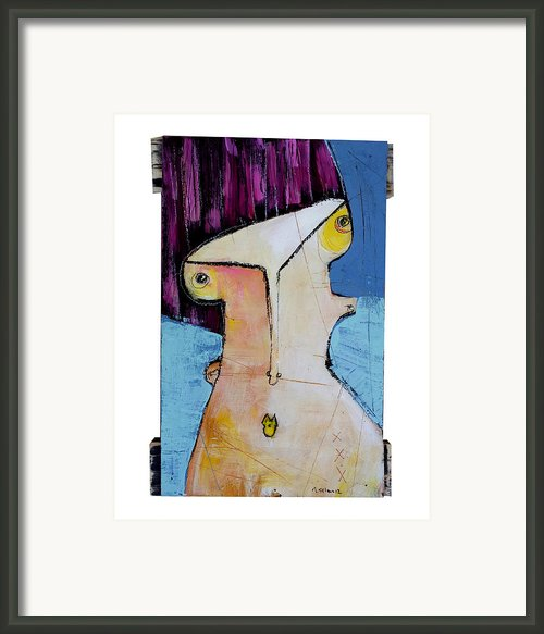 Life As Human Number Twenty Framed Print By Mark M  Mellon