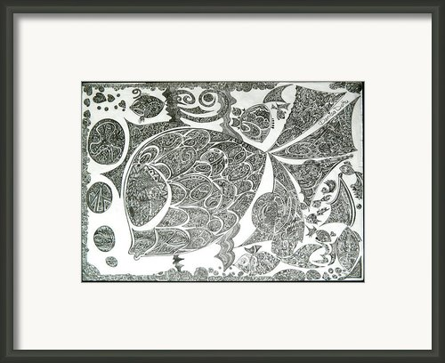 Life In Water Framed Print By Denisa Laura Doltu