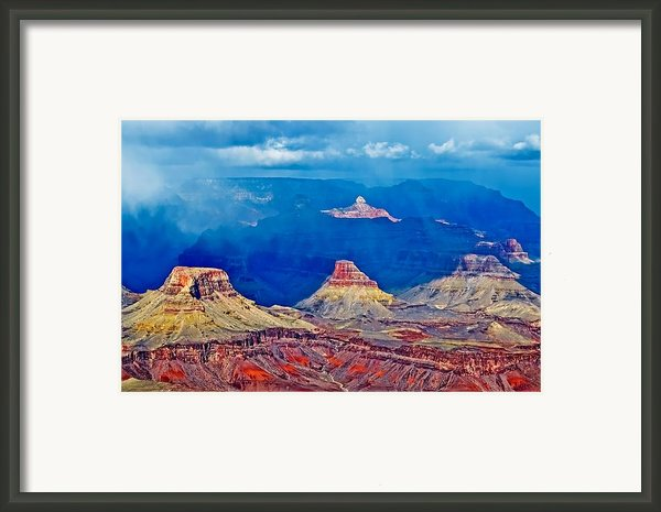Light And Shadow  Framed Print By Jag Fergus