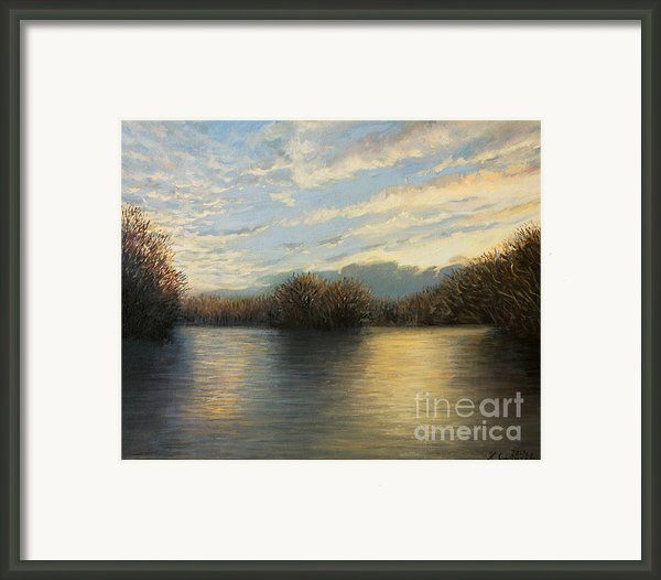 Light At The End Of The Day Framed Print By Kiril Stanchev