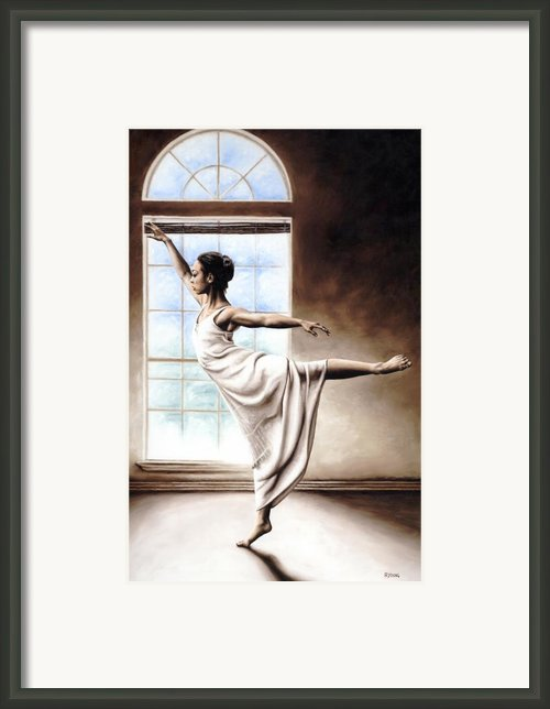 Light Elegance Framed Print By Richard Young