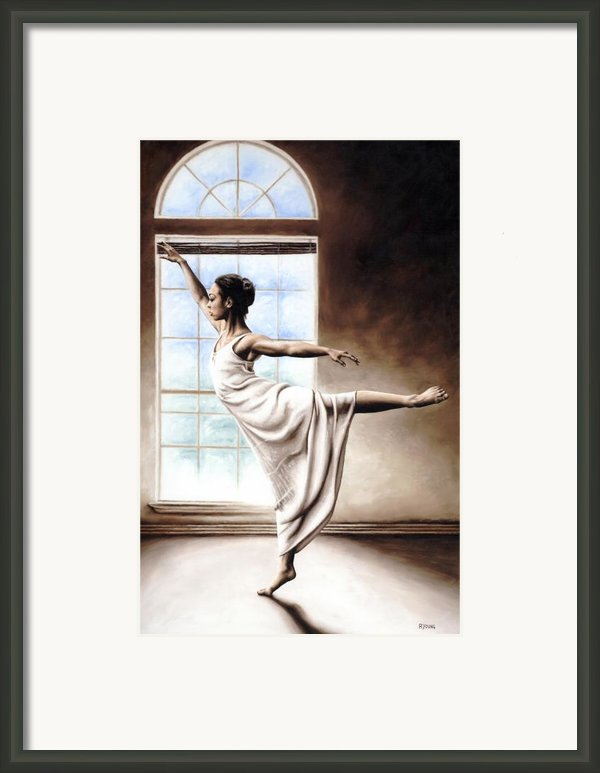 Light Elegance Framed Print By Richard Young