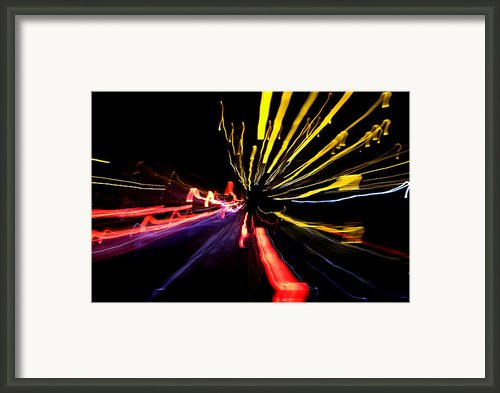 Light Fantastic 03 Framed Print By Natalie Kinnear