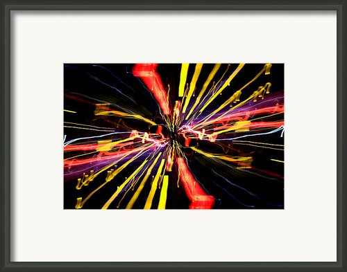 Light Fantastic 04 Framed Print By Natalie Kinnear