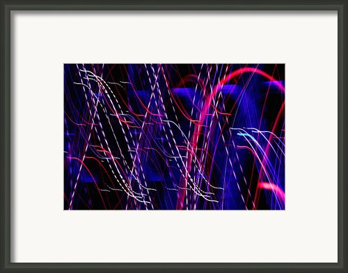 Light Fantastic 06 Framed Print By Natalie Kinnear