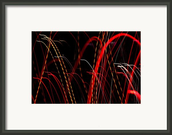 Light Fantastic 08 Framed Print By Natalie Kinnear