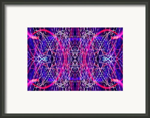 Light Fantastic 30 Framed Print By Natalie Kinnear