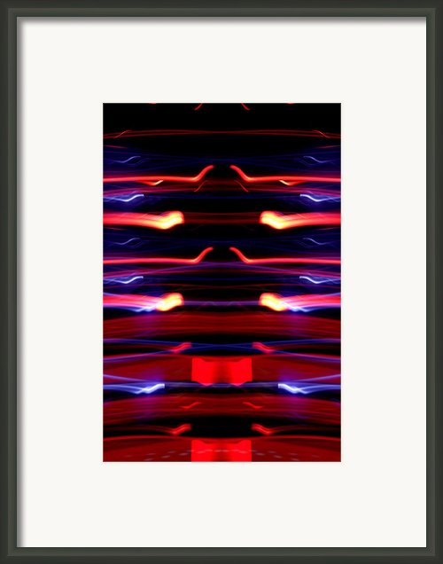 Light Fantastic 35 Framed Print By Natalie Kinnear