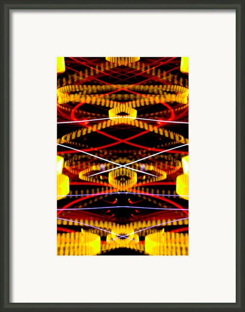 Light Fantastic 36 Framed Print By Natalie Kinnear