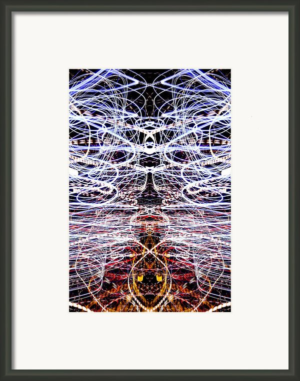 Light Fantastic 38 Framed Print By Natalie Kinnear