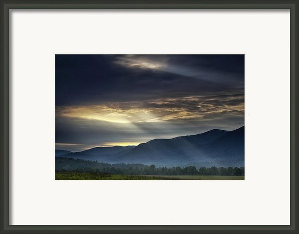Light From The Heavens Framed Print By Andrew Soundarajan