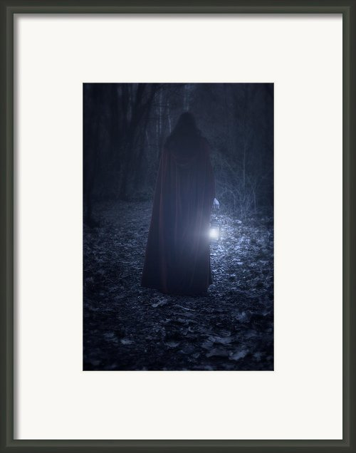 Light In The Dark Framed Print By Joana Kruse