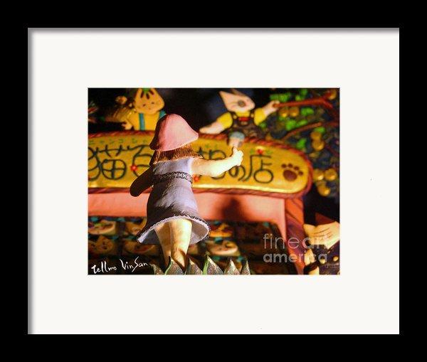 Light Museum Book 2 Framed Print By Terumi Wago