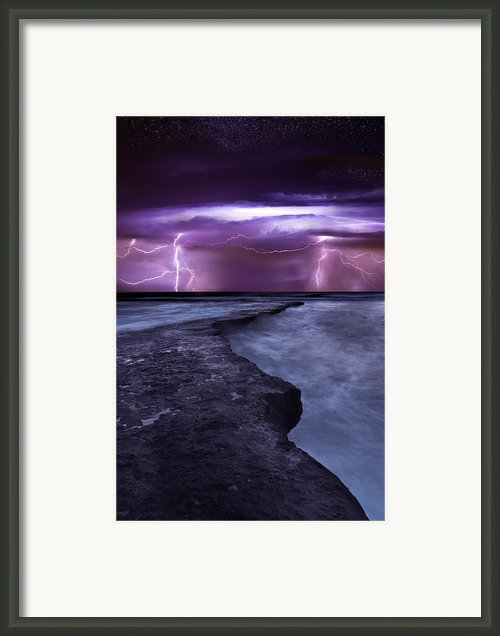 Light Symphony Framed Print By Jorge Maia