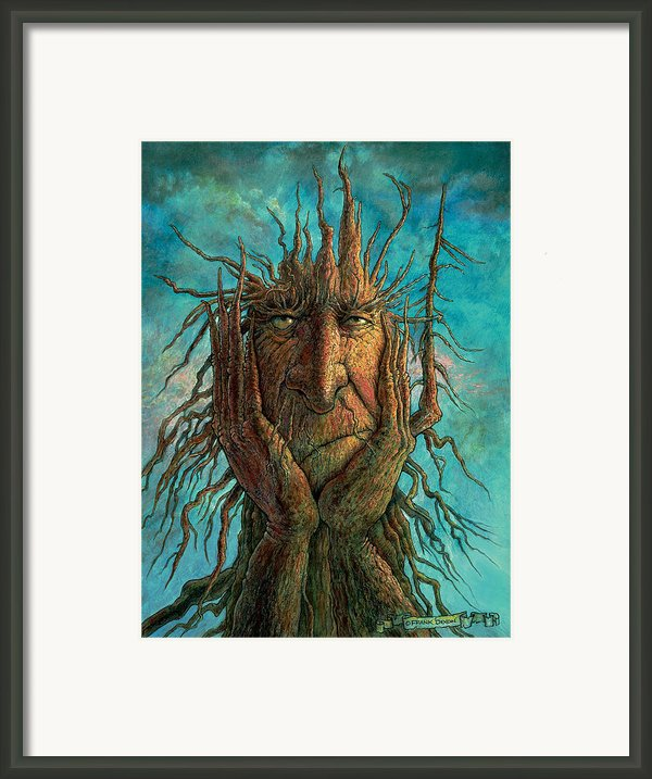 Lightninghead Framed Print By Frank Robert Dixon