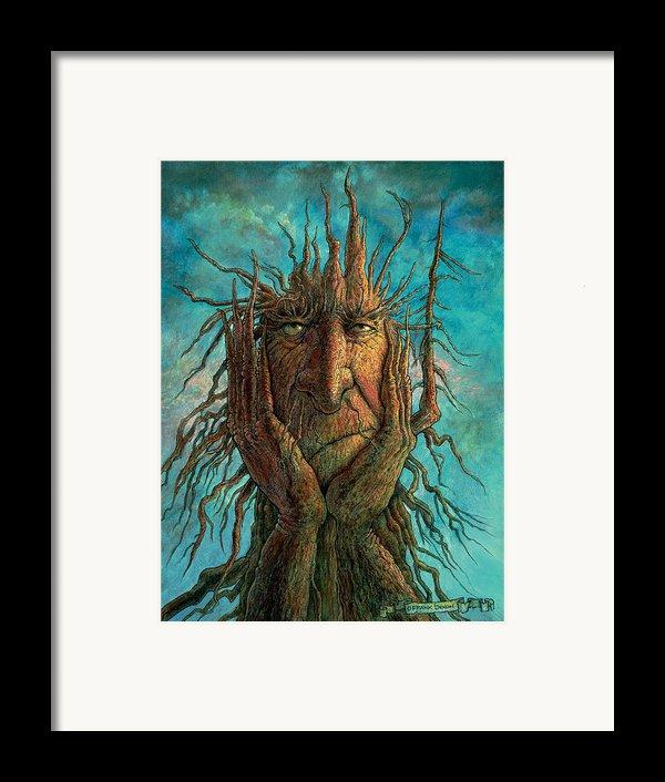 Lightninghead Framed Print By Frank Robert Dixon