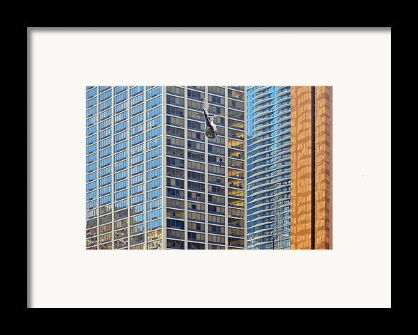 Lights - Camera - Action - Movie Backdrop Chicago Framed Print By Christine Till