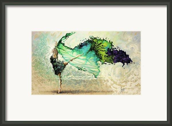 Like Air I Will Raise Framed Print By Karina Llergo Salto