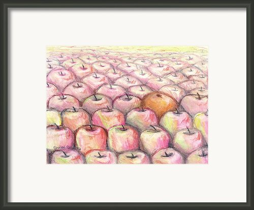 Like Apples And Oranges Framed Print By Shana Rowe