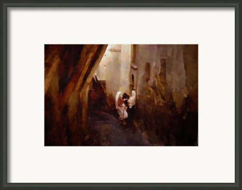 Like In Old Days Framed Print By Gun Legler