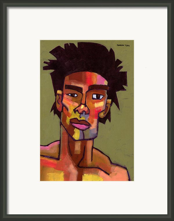 Likes To Party Framed Print By Douglas Simonson