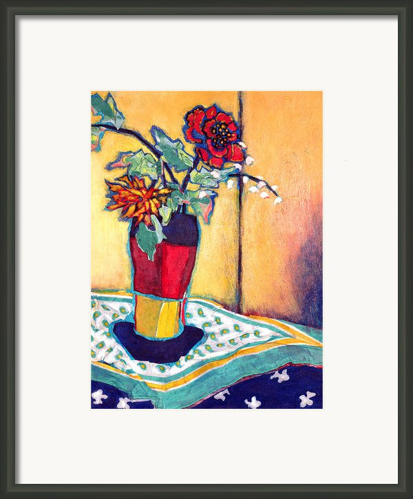 Lilies Of The Valley Framed Print By Diane Fine