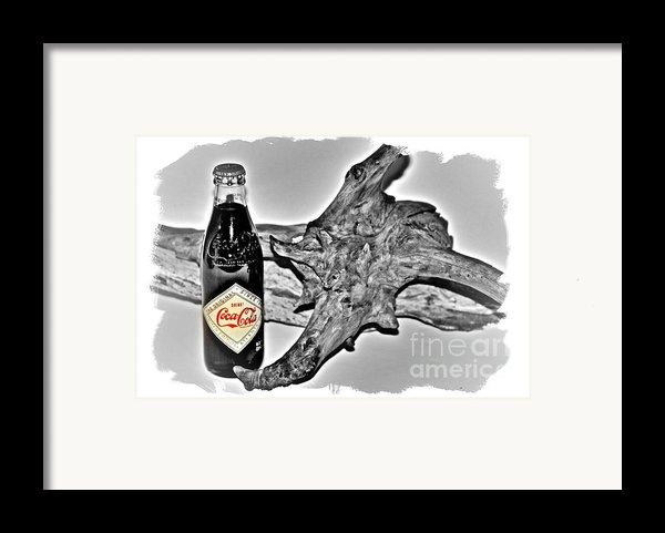 Limited Edition Coke - No.1130 Framed Print By Joe Finney