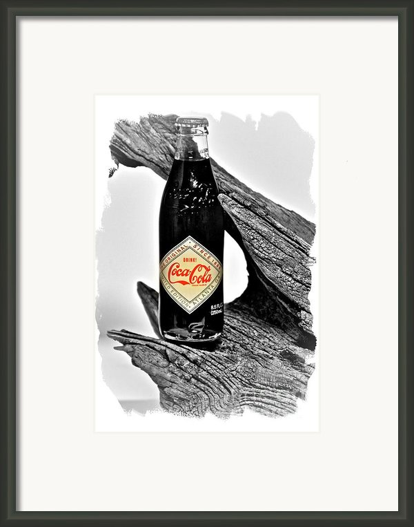 Limited Edition Coke - No.15 Framed Print By Joe Finney