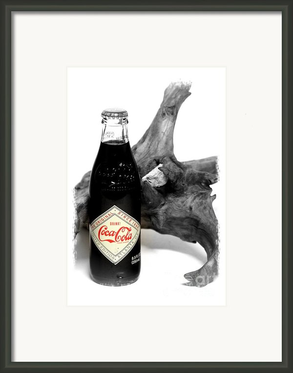 Limited Edition Coke - No.438 Framed Print By Joe Finney