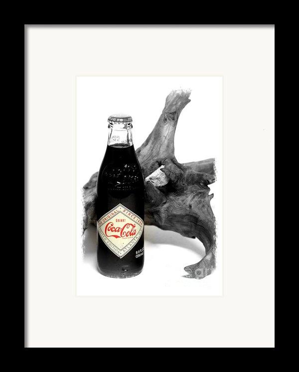 Limited Edition Coke - No.438 Framed Print By Joe Finney