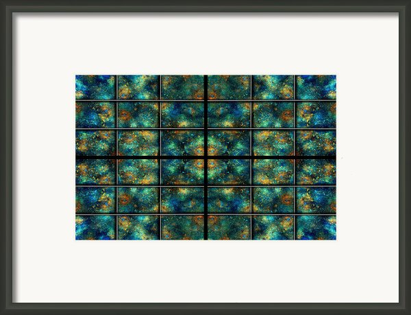 Limitless Night Sky Framed Print By Betsy A  Cutler