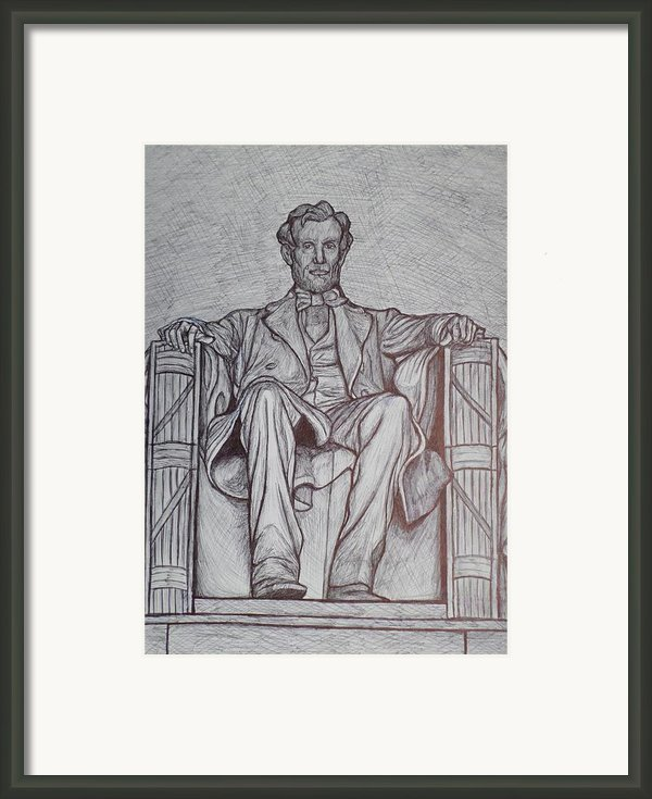 Lincoln Memorial Framed Print By Christy Brammer