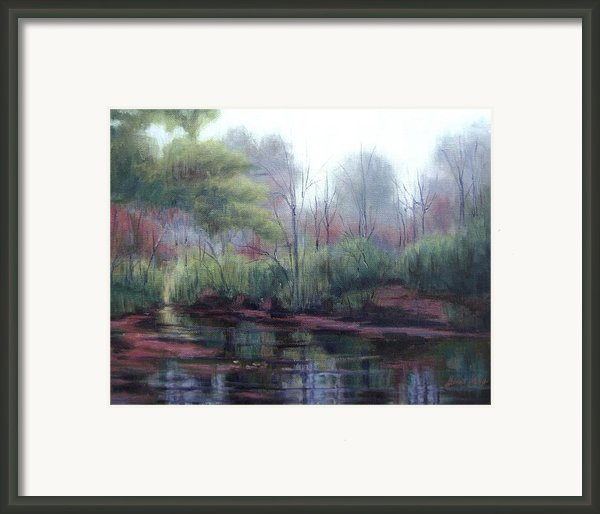 Little Harpeth River Framed Print By Janet King