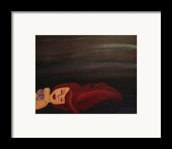 Little Mermaid Framed Print By Oasis Tone