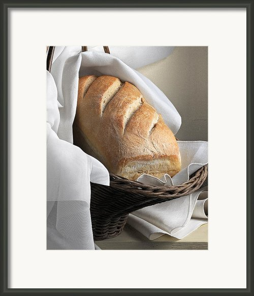 Loaf Of Bread Framed Print By Krasimir Tolev