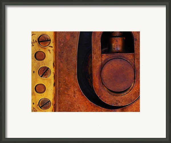 Lock Down Framed Print By Skip Hunt