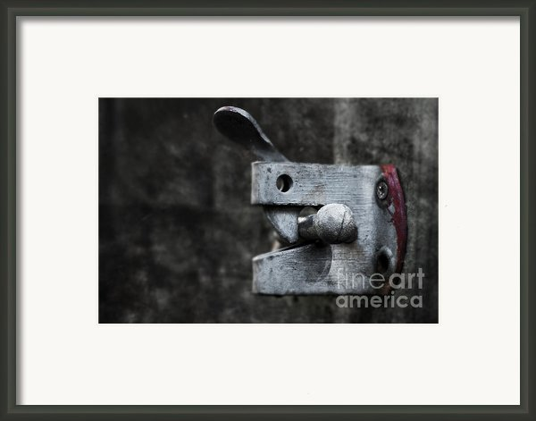 Lock Framed Print By Svetlana Sewell