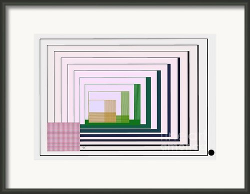Logical Record Framed Print By Leo Symon