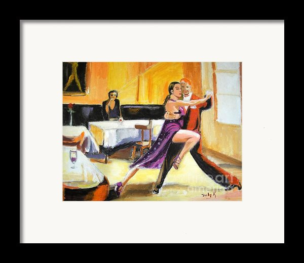 Lone Audience Framed Print By Judy Kay