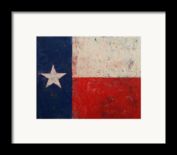 Lone Star Framed Print By Michael Creese