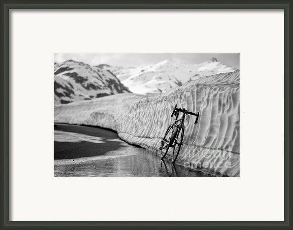 Lonely Bike Framed Print By Maurizio Bacciarini