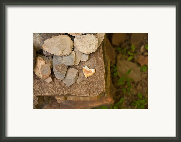 Lonely Heart Framed Print By Lena Wilhite