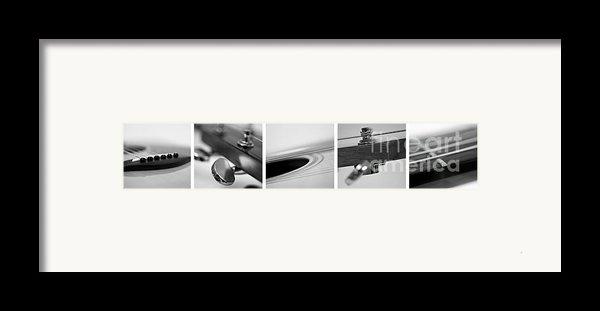 Long As The Guitar Framed Print By Priska Wettstein